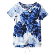 Joe Fresh™ Floral Tee - Girls 1t-5t
