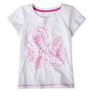 Joe Fresh™ Neon Graphic Tee - Girls 1t-5t