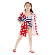 Disney Red Minnie Mouse Swimwear and Accessories - Girls 2-10