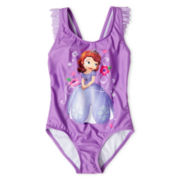 Disney Sofia the First 1-Piece Swimsuit