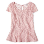 Sally M™ Sally Miller Daisy Peplum Top - Girls 6-16