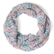 Arizona White Dot Infinity Scarf - Girls