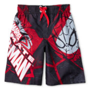 Spider-Man Swim Trunks - Boys 6-10