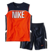 Nike® Muscle Shirt and Shorts Set - Boys 4-7