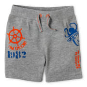 Joe Fresh™ Graphic Shorts - Boys 3m-24m
