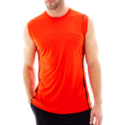 Reebok® Sleeveless Colorblock Tech Tee