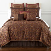 Home Expressions™ Corinthian 7-pc. Jacquard Comforter Set & Accessories