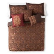 Home Expressions™ Corinthian 7-pc. Jacquard Comforter Set