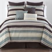 JCPenney Home™ Sonoma Chenille 4-pc. Comforter Set & Accessories