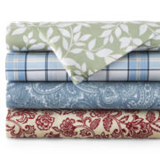 JCPenney Home™ 300tc Easy Balance Print Sheet Set