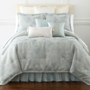 Royal Velvet® Priscilla Jacquard Comforter Set & Accessories