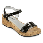 Arizona Suzy Girls Wedge Sandals - Little Kids/Big Kids