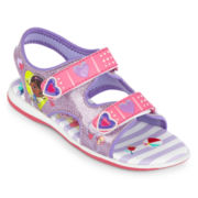 Disney Doc McStuffins Girls Light-Up Sandals - Toddler