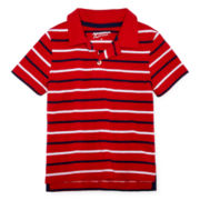 Arizona Short-Sleeve Striped Polo – Boys 2t-5t