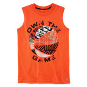Xersion™ Sleeveless Graphic Muscle Tee – Boys 8-20