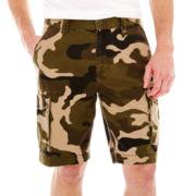 St. John's Bay® Legacy Camo Cargo Shorts