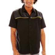 akademiks® Wichita Short-Sleeve Woven Shirt