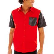 akademiks® Laredo Short-Sleeve Woven Shirt