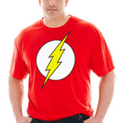 Flash™ Logo Tee–Big & Tall