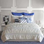 Neve Ruched Quilt & Accessories