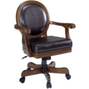 Jennings Bonded Leather Adjustable Game Chair