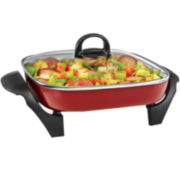 "Cooks 12x12"" Ceramic Electric Skillet"
