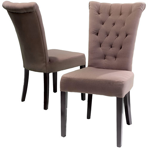 Ashlin Set of 2 Tufted Dining Chairs