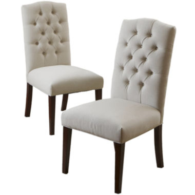 jcpenney.com | Bilson Set of 2 Tufted Dining Chairs