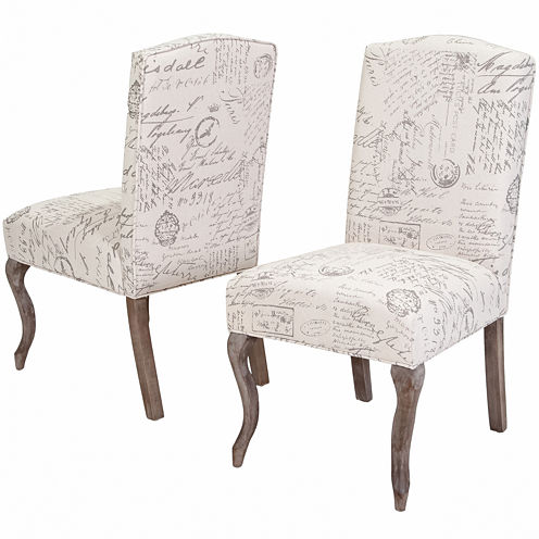 Brianna Set of 2 Upholstered Dining Chairs