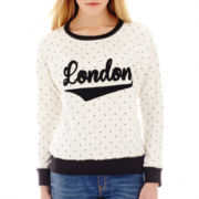 MNG by Mango® Long-Sleeve London Polka Dot Sweatshirt