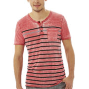 i jeans by Buffalo Caino Short-Sleeve Henley Tee