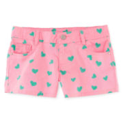 Total Girl® Print Shorties - Girls 7-16