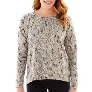 Liz Claiborne® High-Low Sweatshirt
