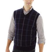 Dockers® Windowpane Sweater Vest