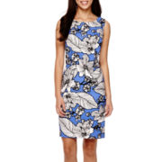 Alyx® Sleeveless Floral Sheath Dress