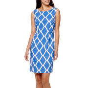 Alyx® Sleeveless Diamond Sheath Dress