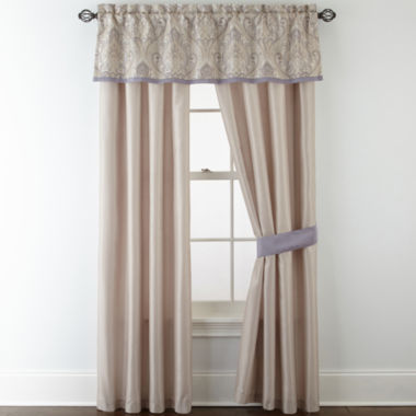 jcpenney.com | Home Expressions™ Le Reine 2-Pack Curtain Panels