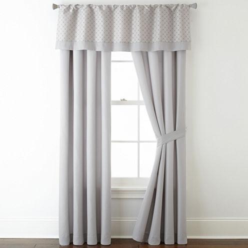 Studio™ Radius 2-Pack Rod-Pocket Curtain Panels