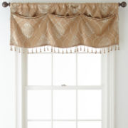 Home Expressions™ Sorrento Tuck Blackout Rod-Pocket Valance