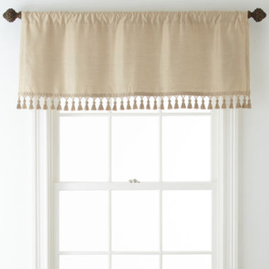 jcpenney.com | Royal Velvet® Supreme Rod-Pocket Lined Tailored Valance