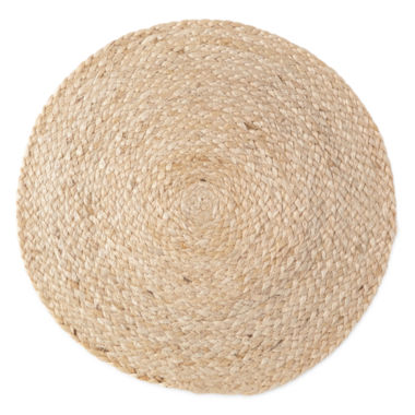 jcpenney.com | Natural Jute Set of 4 Round Woven Placemats