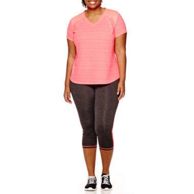 jcpenney.com | Xersion™ Mesh T-Shirt or Mesh Athletic Capris - Plus