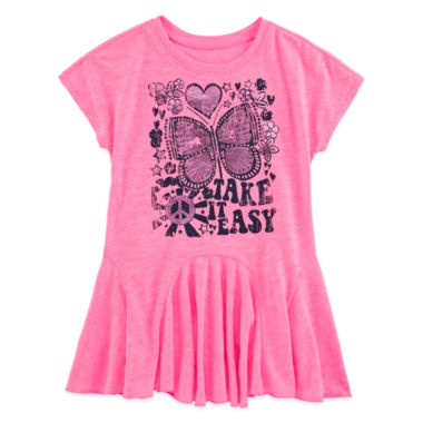 jcpenney.com | Arizona Short-Sleeve Tunic - Toddler Girls 2t-5t