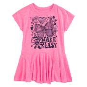 Arizona Short-Sleeve Tunic - Toddler Girls 2t-5t