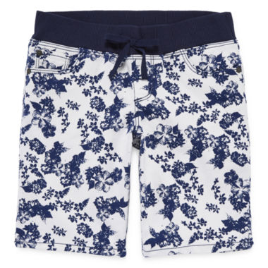 jcpenney.com | Arizona Knit-Waist Bermuda Shorts - Girls 7-16, Slim and Plus