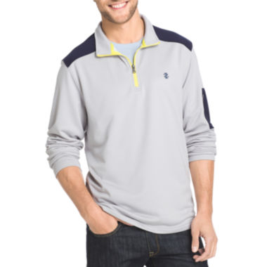 jcpenney.com | IZOD® Long-Sleeve Quarter-Zip Performance Pullover Shirt