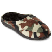 Stafford® Mens Memory Foam Clog Slippers