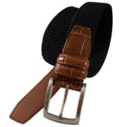 PGA TOUR® Croco Tab Belt