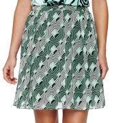 Worthington® Shirred Full Skirt