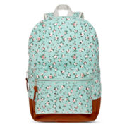 Olsenboye® Floral Ditsy Print Mint Dome Backpack